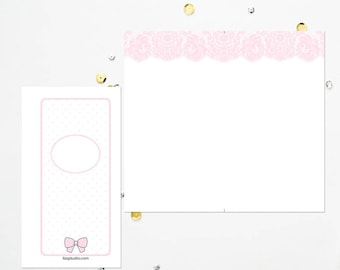 Personal TN Pink Lace Blank