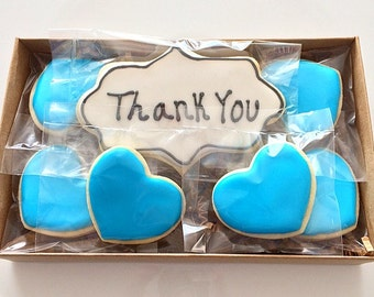 THANK YOU cookie gift box