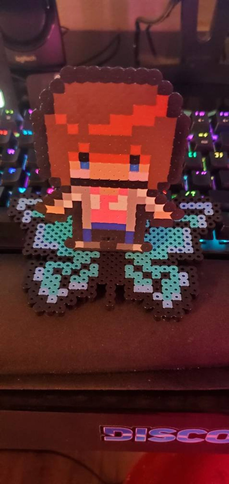 Max from Life is Strange Perler wButterfly Stand