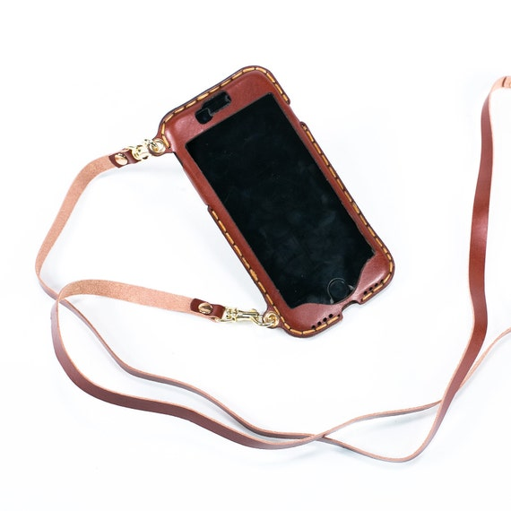 quality design 38fde 7731a iPhone 10 lanyard crossbody neck strap long crossbody strap wallet phone  purse bandolier style leather iPhone 10 case iPhone X style 01LS