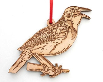 Western Meadowlark Ornament - Second Most Popular State Bird