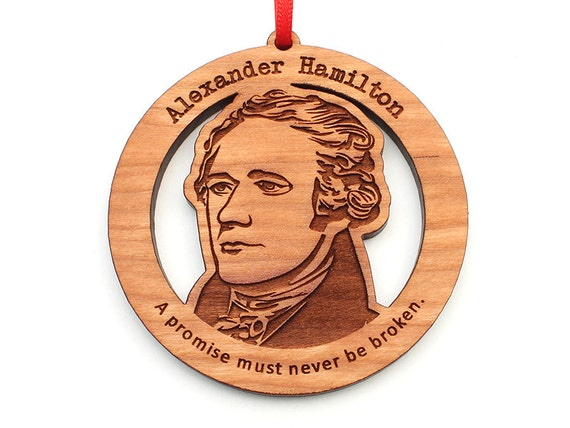 Hamilton Christmas Ornament.Alexander Hamilton Christmas Ornament Wood Hamilton Ornament By Nestled Pines Woodworking