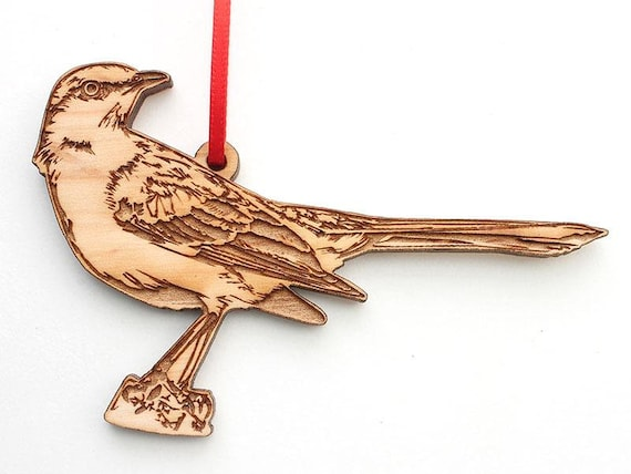 Maple Wood Realistic Carved Wooden Hummingbird Christmas Ornament Hummingbird Ornament Bird Collection
