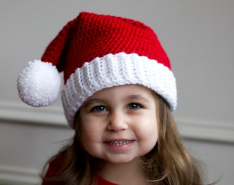 Elf Hat Newborn Baby Hat Ready to Ship Boy Hat Girl Hat Crochet Hat Christmas Hat