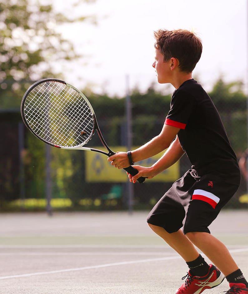buy popular b0c83 9253a Jake jungen Tennisbekleidung | Jungen Tennisbekleidung | Junior-Tennis  Outfit tragen | Jungen-Tennis-Tops