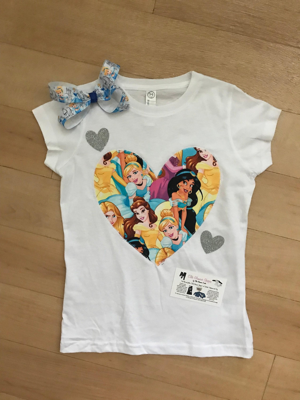 02d1cfc61 Custom disney princess shirt personalized disney princess | Etsy