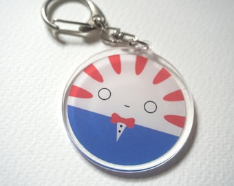 Adventure Time Peppermint Butler acrylic charms