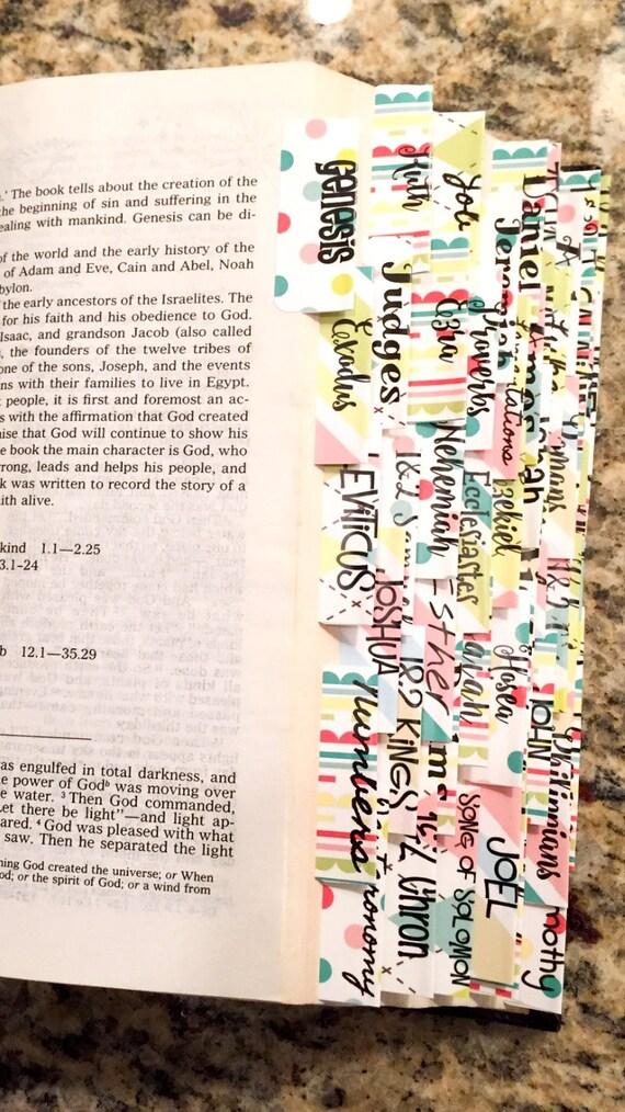 Preppy Bible Tabs