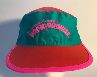 Vintage NEON PAINTERS CAP    Neon Colors 4855cd45bc6