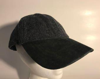 REI Recreational Equipment INC. Grey Wool Hat    Suede Brim 7e797874799