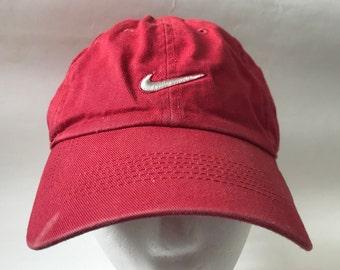 aa4aa9b918c Retro nike hat | Etsy