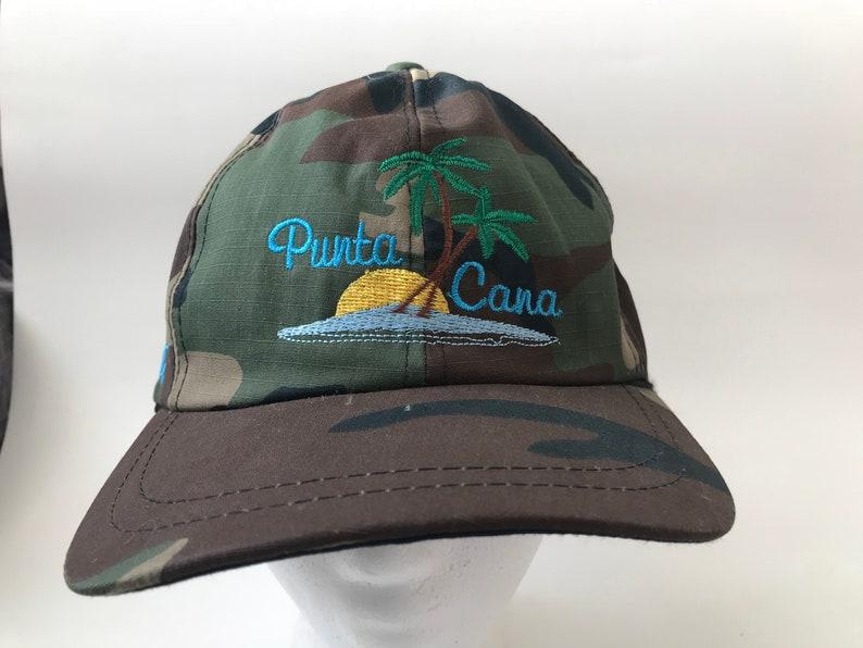 10f8814a2 Camo Punta Cana Palm Tree Hat