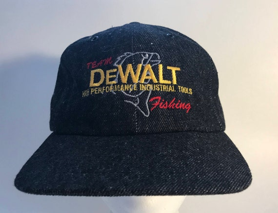 Dark Denim Dewalt Fishing Hat  5473f32ccc4