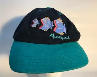 2 Tone Ogunquit Maine Fish Hat