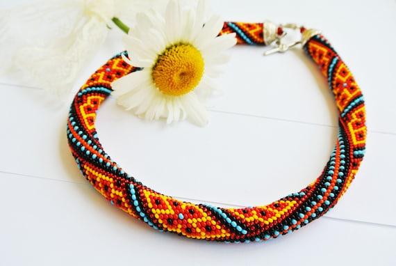 Pdf Bead Crochet Pattern Arabiko Pattern Only Etsy