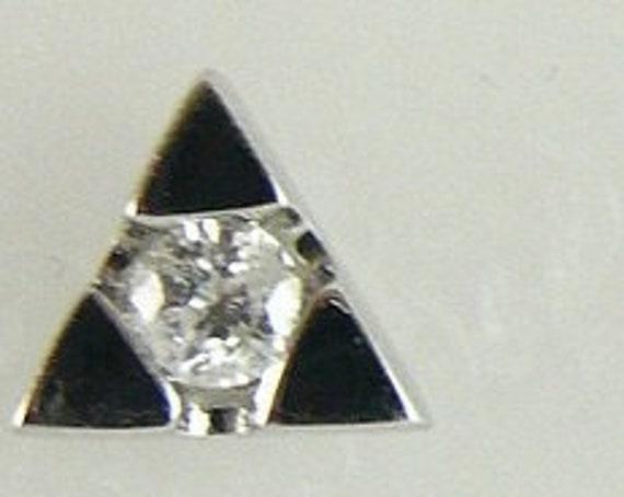 Diamond 0.20ct Earring 18k White Gold
