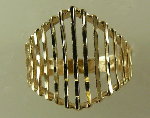 Yellow 14k Gold Size 5 1/2