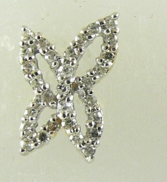 Diamond 0.22ct Earring 14k Yellow Gold