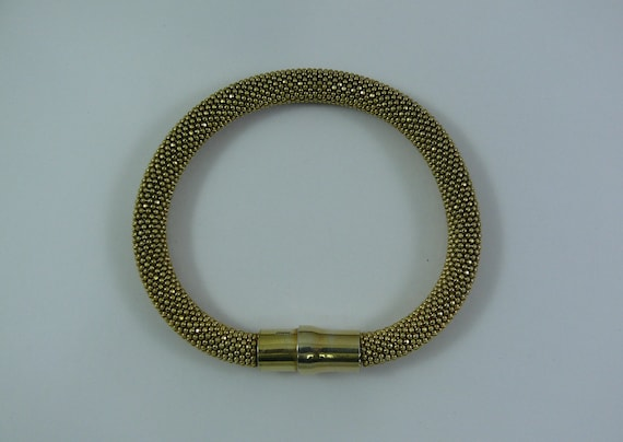 Silver Bangles Gold Plated 7 Inches