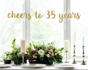 35th Party Decor Etsy