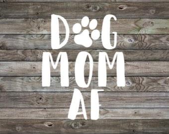 Fur Mama Decal | Dog Mom | Car Decal | Vinyl Decal | Laptop Decal | Window Sticker | Dog Mom Gift | Rescue Mom | Dog Mom AF