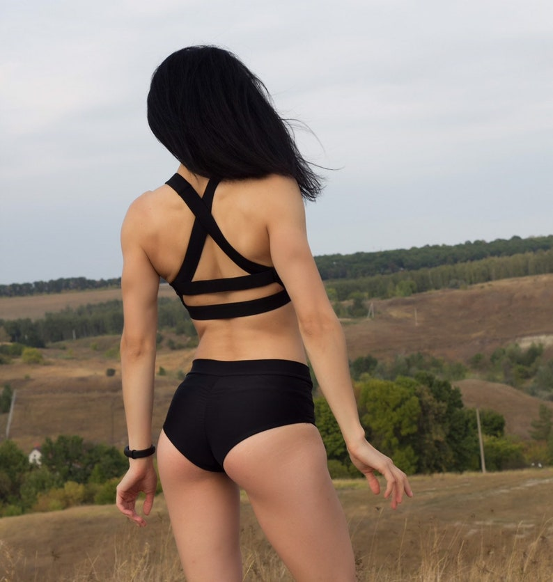 fitness  and other sports pole dance twerk Sport bra swimwear top for yoga