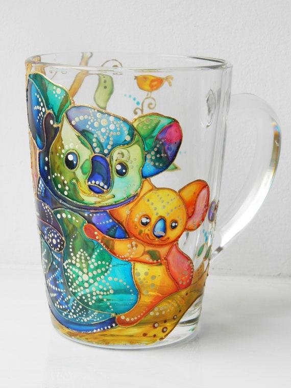 Koala Mug Koala Coffee Mug Custom Name Mug Koala Bear Gift Etsy