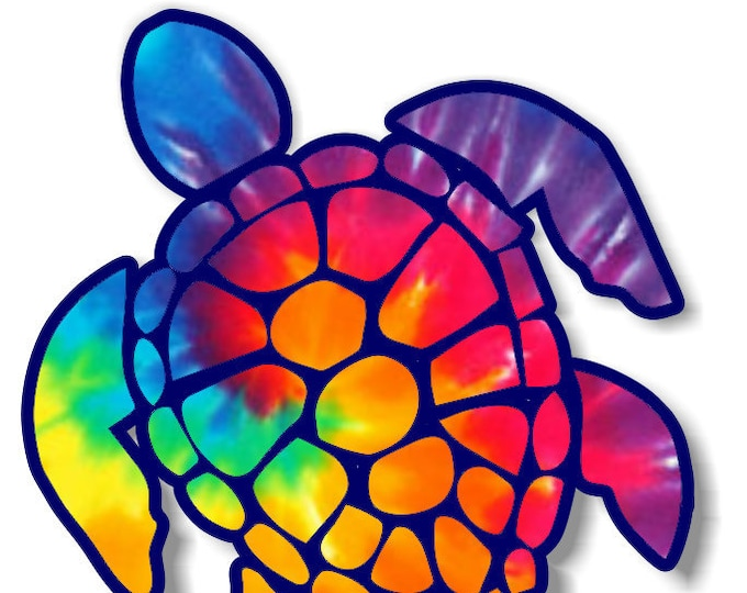 "Sea Turtle 3""  sticker for cell phones, cars, trucks laptops  stick to any smooth surface"