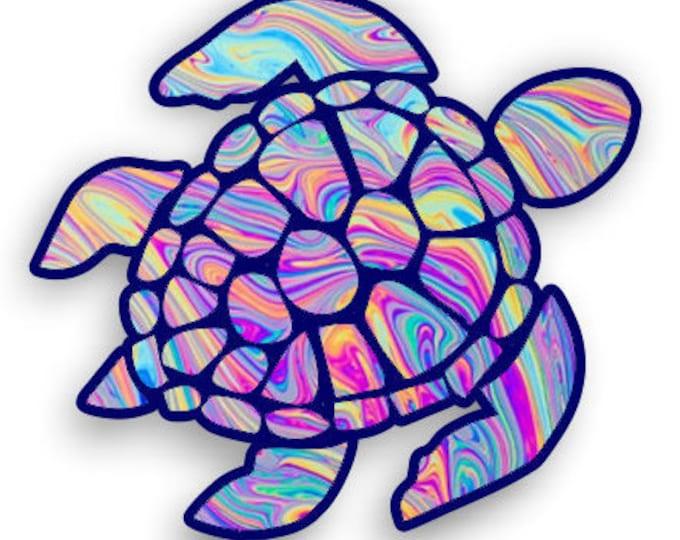 Sea Turtle laptop truck car window sticker custom printed design   **Free Shipping**