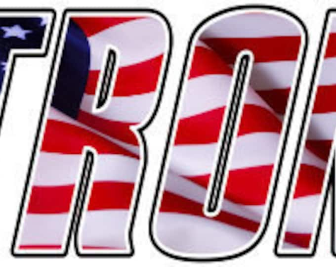 America Strong car truck laptop  sticker/decal  **Free Shipping**