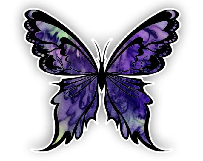 Purple Haze Butterfly sticker / decal**Free Shipping**