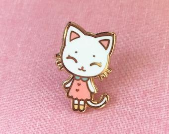Tiny Kitten Hard Enamel Pin- V2 - Standard (A) Grade