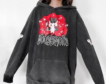 Metal Mousemoth Hoodie 100% Cotton
