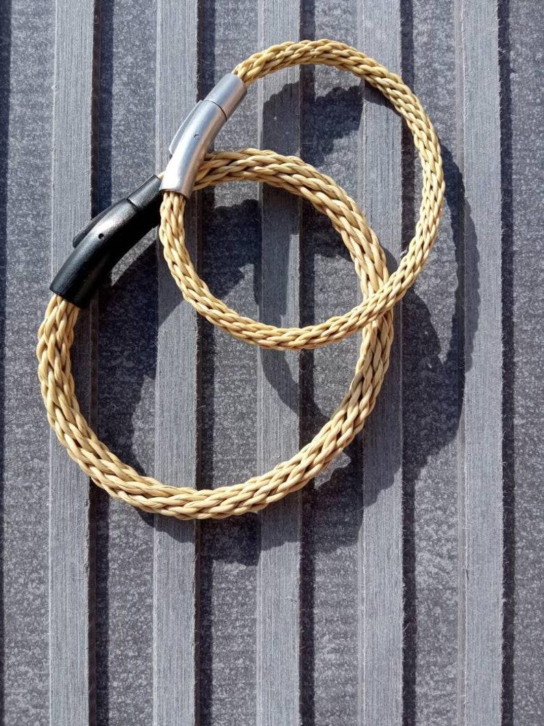 Unique natural original bracelet of spartan wedding birthday anniversary farewell commitment souvenir detail of Spain armband