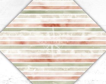 Striped Vinyl - Striped htv - Printed Vinyl - htv - Watercolor - Adhesive Vinyl - Heat Transfer Vinyl - Sublimation - Paper