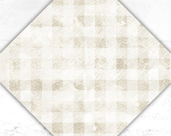 Plaid Vinyl - Buffalo Plaid - Checks - Printed Vinyl - htv - Watercolor - Adhesive Vinyl - Heat Transfer Vinyl - Sublimation - Paper