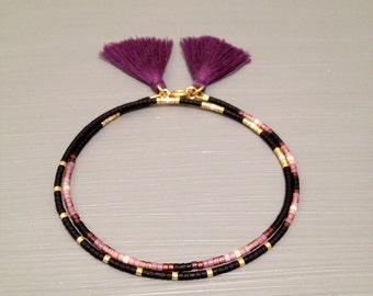 Tassel Jewelry Friendship Bracelet Tassel Bracelet Seed Beads Bracelet Beaded Tassel Bracelet  Bead Friendship