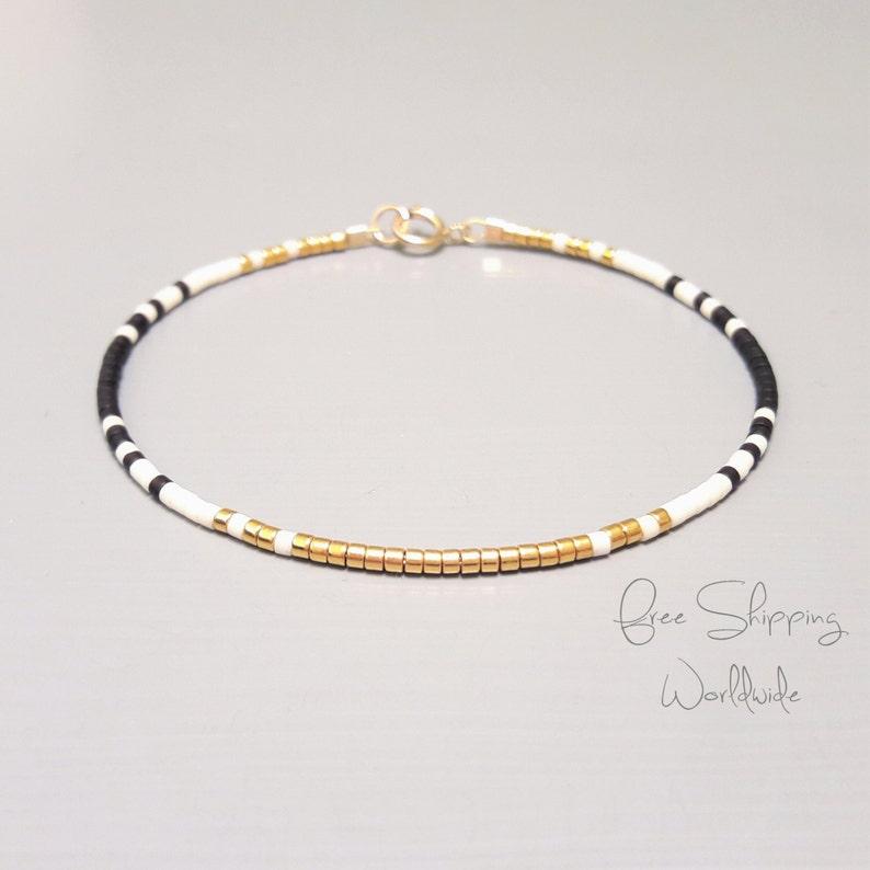 Dainty Gold Bead Bracelet Dainty Bracelet Minimalist Bracelet Simple Bracelet Dainty Jewelry