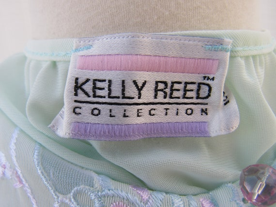 Vintage 70s 80s Kelly Reed Embroidered Tear Drop … - image 10