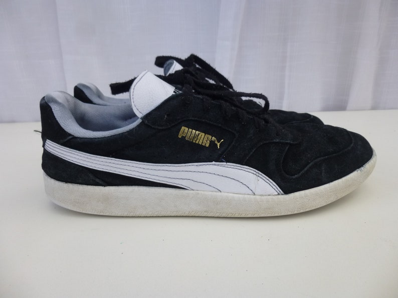 Sneaker Puma Vintage Trainers 90s Sportlifestyle 11 White Suede Black Up Athletic Hommes Tennis Chaussures Hipster Striped Lace Classic Glam Garb N8nvm0w