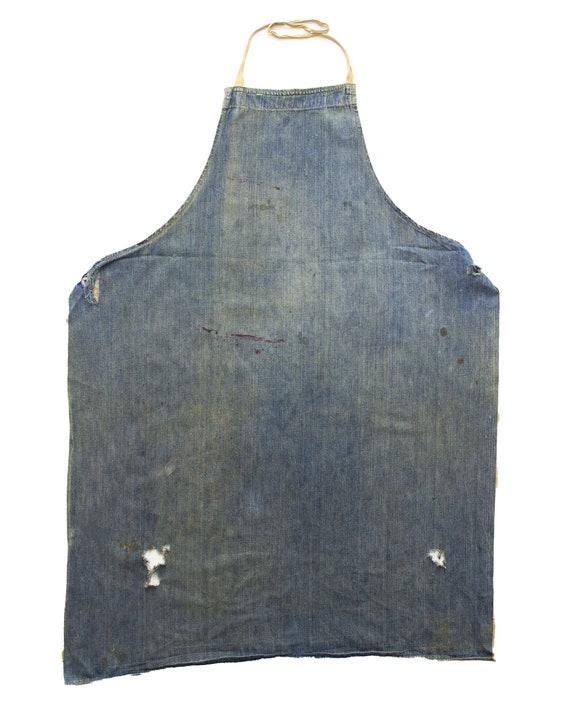 No. 01 - 1940s 50s Selvedge Denim Apron