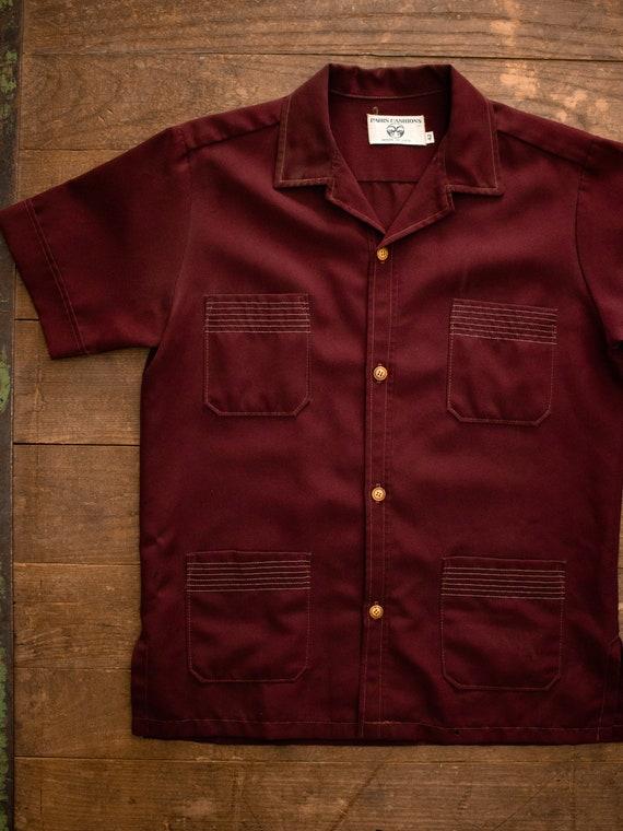 Mens Leisure Shirt | 70s Polyester Shirt | 60s Mod
