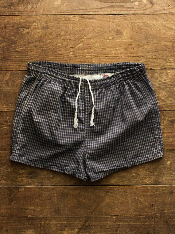 Mens Swim Trunks | 50s 60s Campus Sportswear | Vin