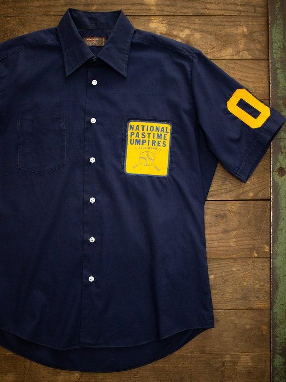 Vintage Baseball Shirt | Vintage Mens Shirt | Shor