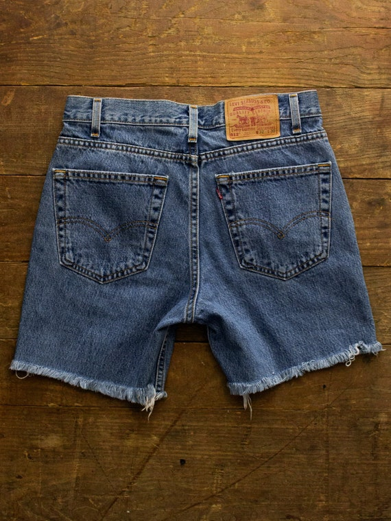 Denim Cutoff Shorts | Vintage Levi's | Levi's Deni