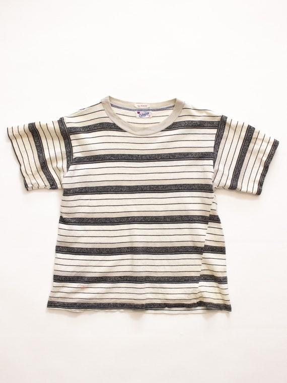 Striped Tshirt | 60s Tshirt | Vintage T Shirt | Vi