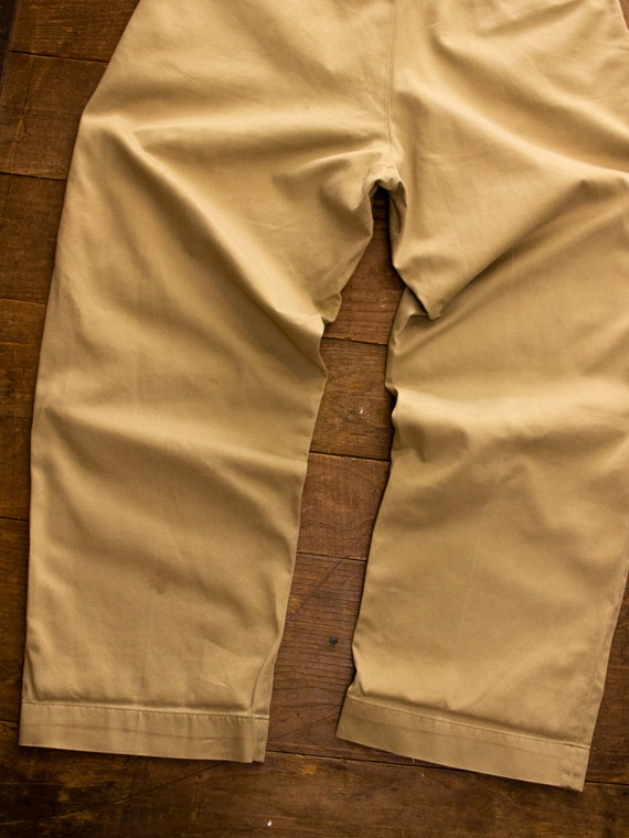 Vintage Military Chino | 50s Mens Pants | Cotton … - image 9