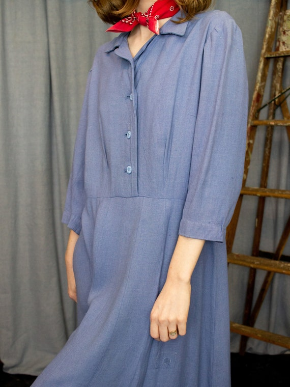 Farm Dress | 30s 40s Dress | Antique Chore Dress … - image 6