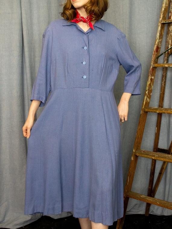 Farm Dress | 30s 40s Dress | Antique Chore Dress |