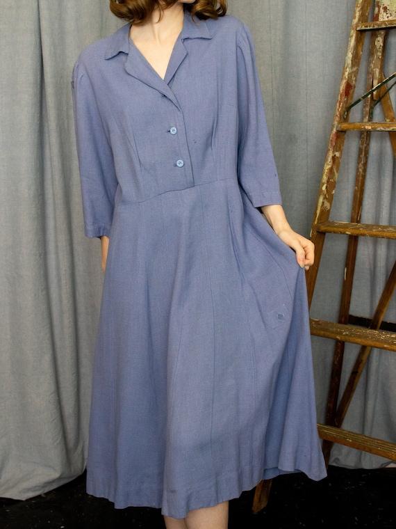 Farm Dress | 30s 40s Dress | Antique Chore Dress … - image 2